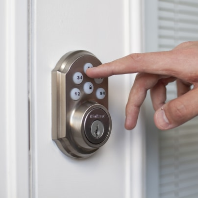College Station smartlock adt